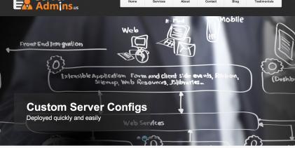 Review: ServerAdmins.us